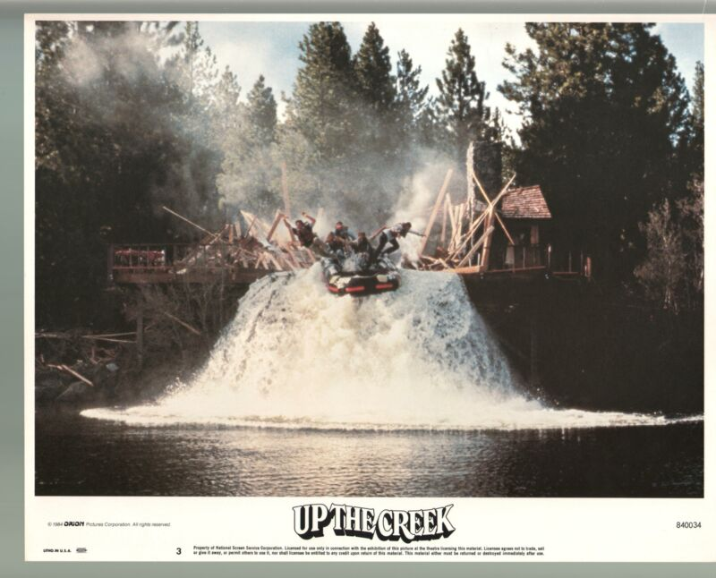 Up The Creek-Tim Matheson-Color-Lobby Card-11x14
