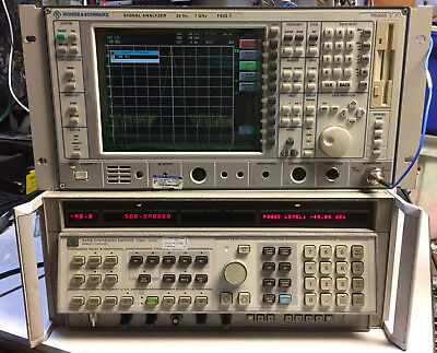 Hp Agilent Keysight 8341b Synthesized Sweep Signal Generator 10mhz To 20ghz