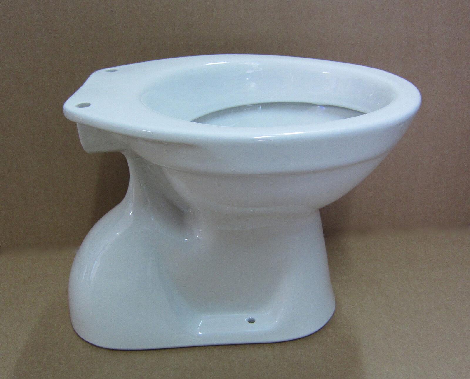 Stand wc tiefspüler abgang innen senkrecht weiss incl befestigung toilette tief
