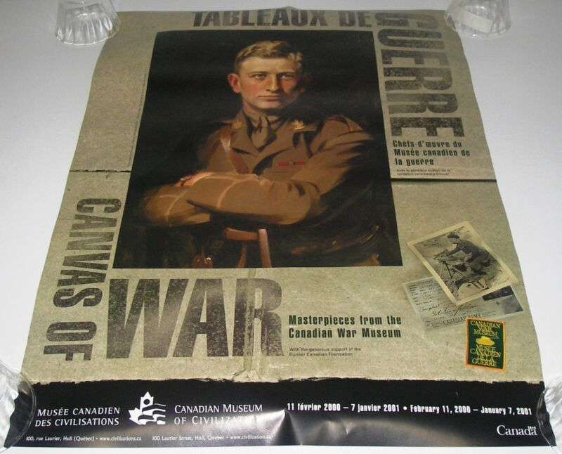 Poster Canvas of War Major O M Learmonth The Victoria Cross by James Quinn