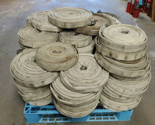 ONE-50FT X 1.5 IN NST SINGLE JACKET RUBBER LINED FIRE HOSE