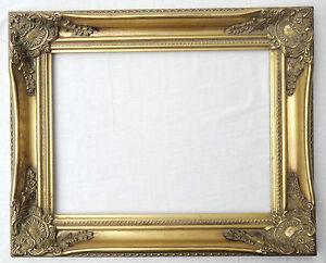 Prl cornice cornici quadro quadri legno oro gold frame for Obi cornici per quadri