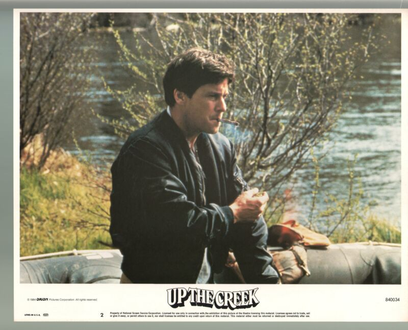 Up The Creek-Tim Matheson-Color-Lobby Card-11x14-FN