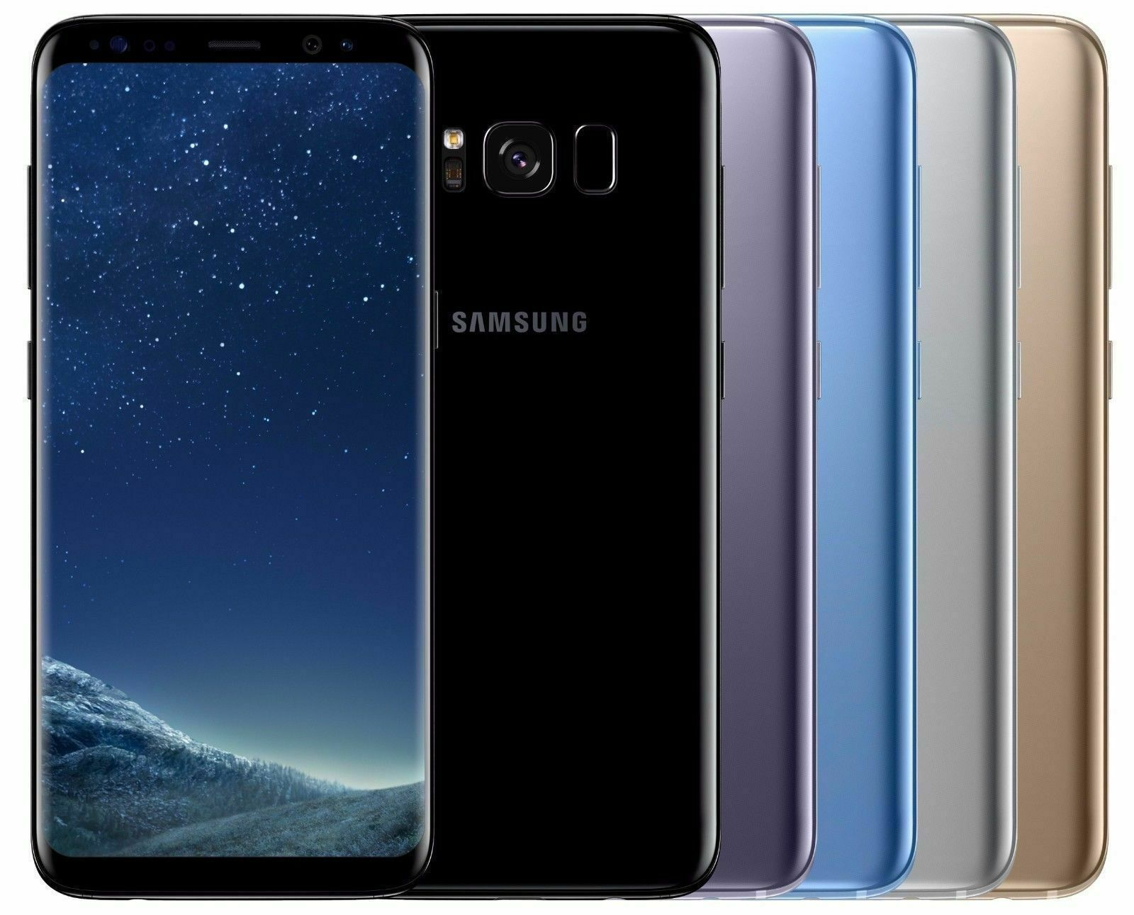Android Phone - FULLY UNLOCKED Samsung Galaxy S8 64GB CDMA+GSM (SM-G950U) All Colors