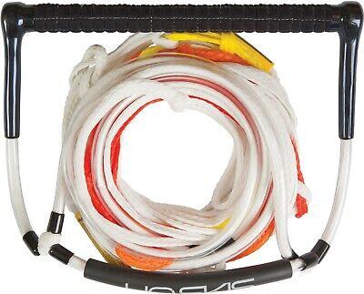 "HO SPORTS SKIS 15"" Elite Deep V Handle w/ 5 Section Mainline Waterski Rope NEW"