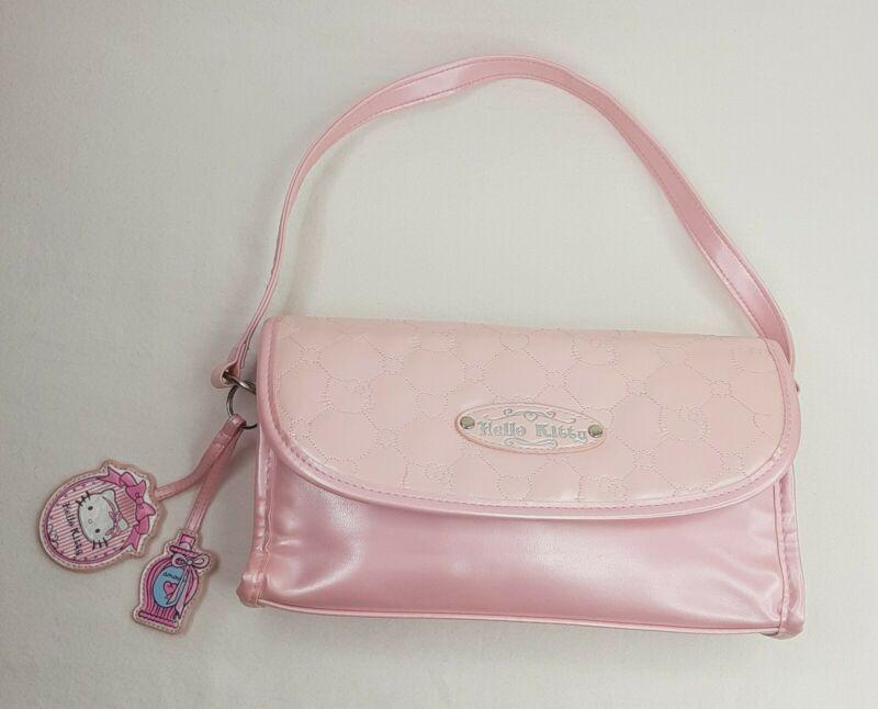 Hello Kitty Pink Purse 1976 2007 Sanrio Handbag Clutch