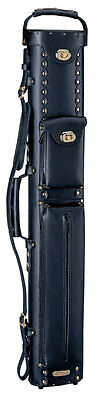 Instroke Cowboy 2x3 Leather Pool Cue Case Black w/ FREE Shipping (Leather Cowboy Cue Case)