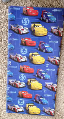 3 X Disney Racing Cars Gift Wrapping Paper Party CARS Lightning Size 19