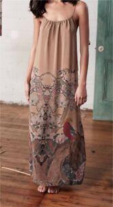 M.A.Dainty silk bird print dress perfect for summer NEW high end  Melbourne CBD Melbourne City Preview