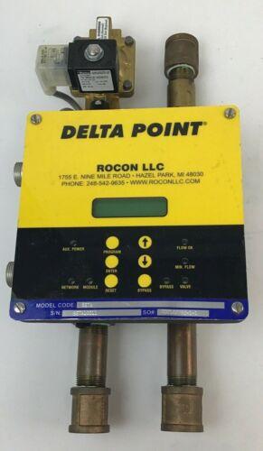 DELTA POINT MODEL CODE BETA FLOW METER S/N:BETA10011 W/PARKER VALVE