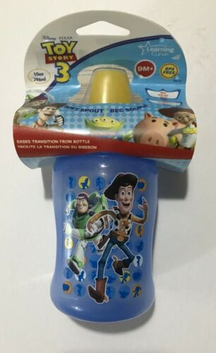 Learning Curve Disney Toy Story 3 Soft Spout Sippy Cup-10oz- Ages 9mos+  NEW