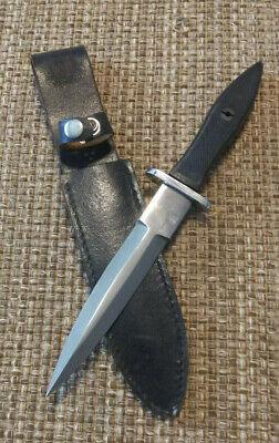 Commando Fighting Knife unusual With Sheath Unmarked *Blackjack-Japan ?
