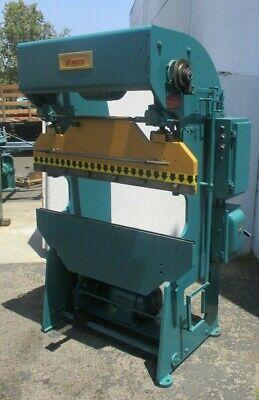 17 Ton X 4 Di-acro Model 14-48-2 Power Press Brake Sheet Metal Bender
