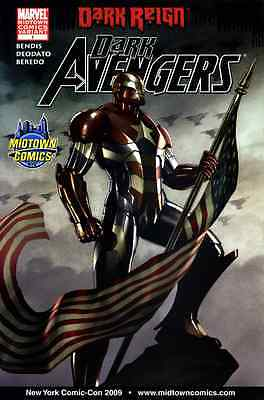DARK AVENGERS 1 ADI GRANOV MIDTOWN NYCC 2009 NY COMIC CON EXCLUSIVE VARIANT NM