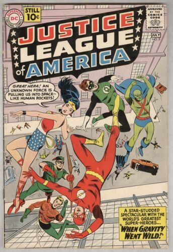 Justice League of America #5 July 1961 VG