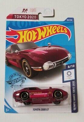 Toyota 2000 GT K Case Hot Wheels * 2020 Olympics * NIP 1:64 Scale