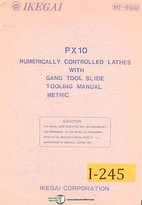 Ikegai Px10 Nc Lathes Tooling Manual