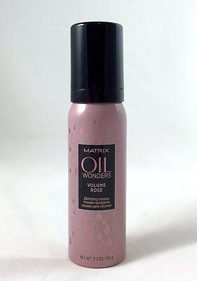Matrix Oil Wonders Volume Rose Plumping Mousse 2.3 Oz
