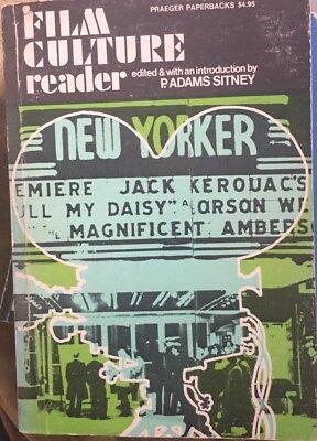 P.Adams Sitney Film Culture Reader 1970