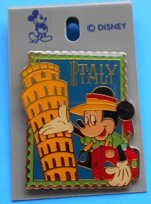 WDW EPCOT ITALY SHOWCASE DISNEY STAMP PIN # 12669 (Not Pin Pics 1997) FROM 1992