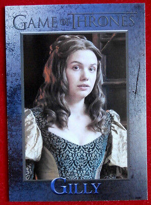 GAME OF THRONES - Season 6 - Card #55 - GILLY - Rittenhouse - 2017