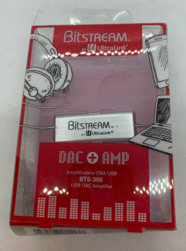 Ultralink Bitstream BTS-300 Portable USB DAC Amp