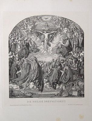 Viktor Jasper Wien Heilige Dreifaltigkeit Jesus Trinität Geist Sohn Vater Gott