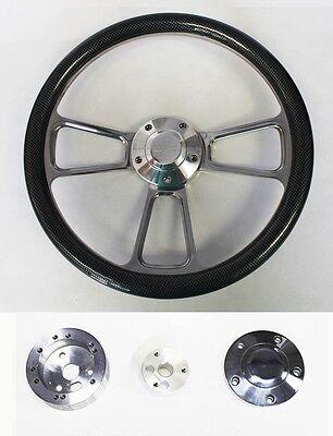 Chevy Bel Air Billet - 1957-68 Chevy Bel Air Carbon Fiber and Billet Steering Wheel 14