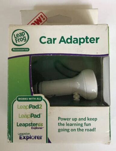 NIB LEAP FROG LeapPad2 Ultra LeapsterGS CAR ADAPTER Charger