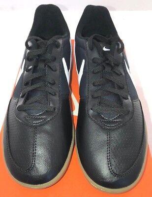 NIKE Davinho Men s Indoor Soccer Shoes 580452-010 Black White Sizes 8-15 NEW eba45e97663