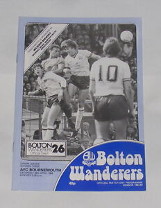 Bolton-Wanderers-v-AFC-Bournemouth-1983-1984