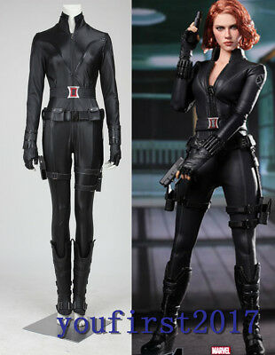Marvel's The Avengers Black Widow The Avengers Natasha Romanoff Cosplay Kostüm  (Black Widow Cosplay)