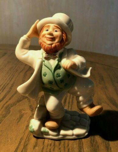Lenox Porcelain Leprechaun Figurine