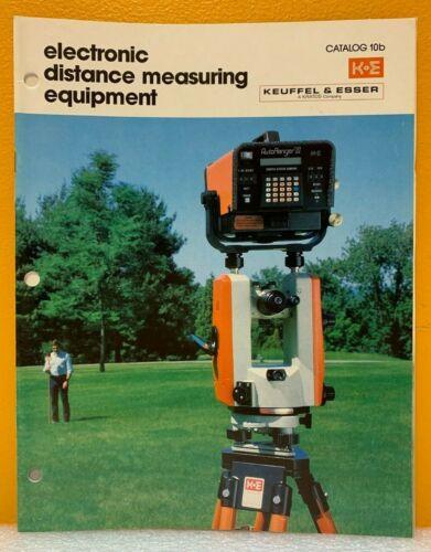 Keuffel & Esser Electronic Distance Measuring Equipment Catalog 10B.