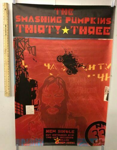 HUGE SUBWAY POSTER The Smashing Pumpkins 33 Thirty Three Grunge 1995 Today Rock