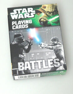 PRL-STAR-WARS-BATTLES-PLAYING-CARDS-CARTAMUNDI-COLLECTION-CARTE-COLLEZIONE