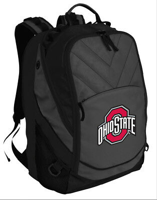 Ohio State Backpack BEST OSU Laptop Computer Bag - LOADED with