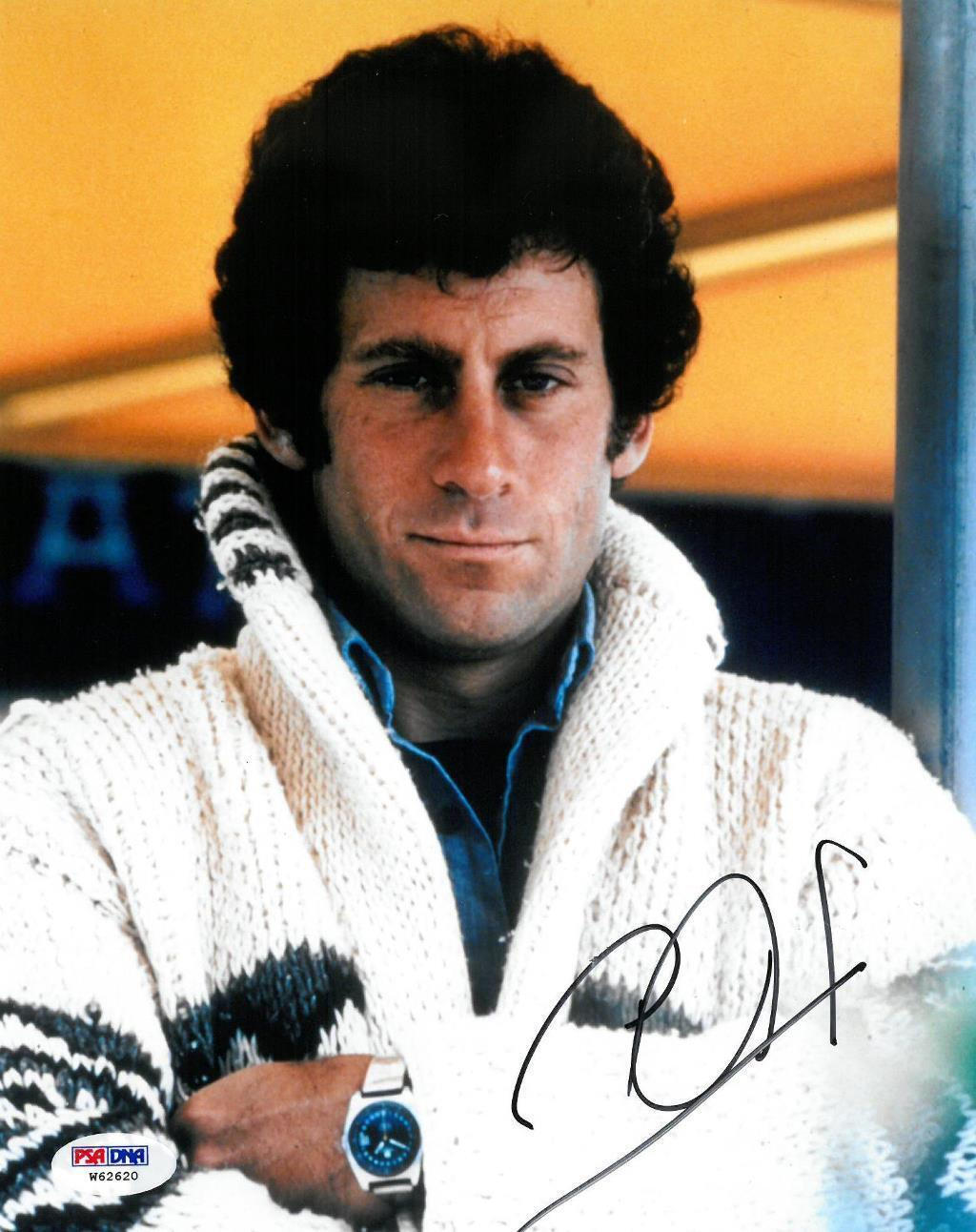 Paul michael glaser signed starsky & hutch autographed 8x10 photo psa/dna coa