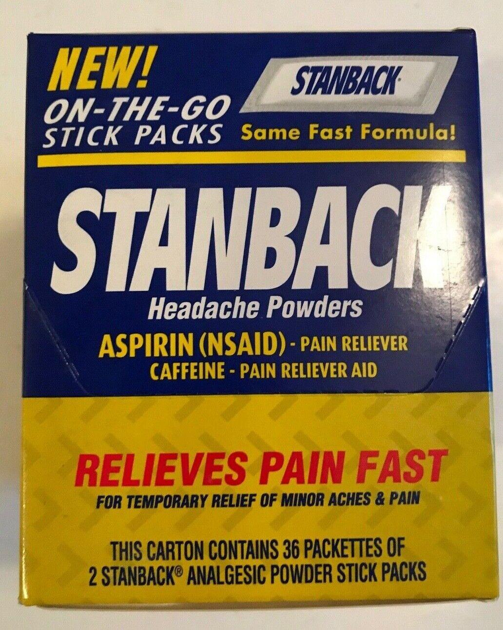 Stanback Headache Powders 72 Each