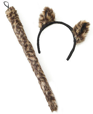 Wild Things Adult Cougar Set  - Halloween Cougar Ears