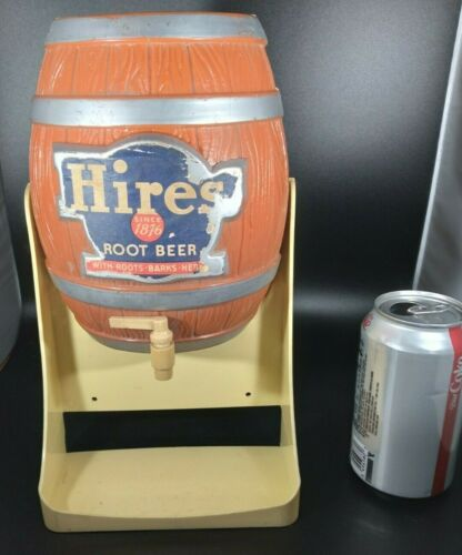 VINTAGE ADVERTISING TOY HIRES ROOT BEER SYRUP DISPENSER NOT COMPLETE