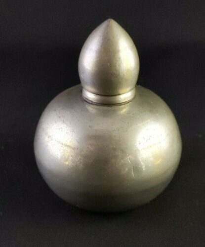 """Sheffield Silverplate Handcrafted Perfume Bottle marked """"Special EFX"""""""