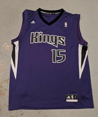 Adidas DeMarcus Cousins Sacramento Kings NBA #15 Jersey Large
