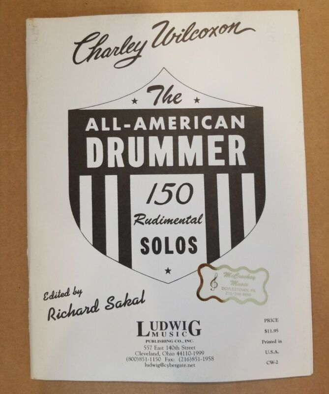 The All American Drummer 150 Rudimental Solos Ludwig Music