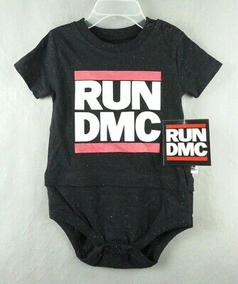 NWT NEW Official NEW RUN DMC One Piece Infant Outfit Size 12 Months (Run Dmc Outfit)
