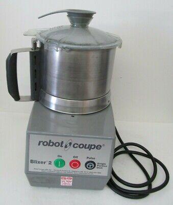 Robot Coupe Blixer 2 Food Processor Single Portion Unit W Lid