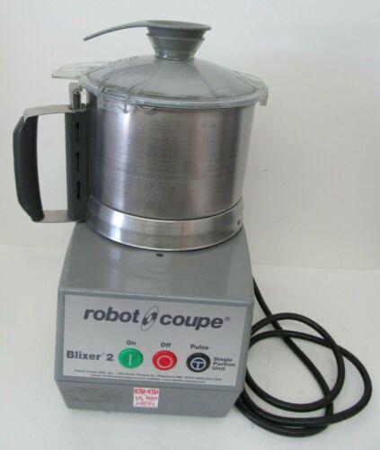 Robot Coupe Blixer 2 Food Processor Single Portion Unit w/ Lid