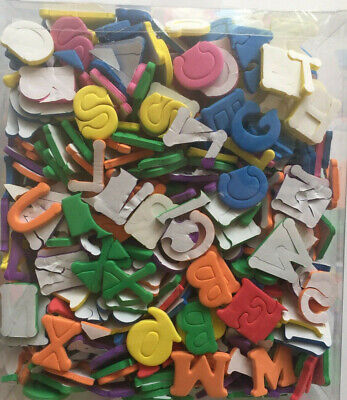 Adhesive Foam Letters School Art Project Children's Toy Over 520 Letters