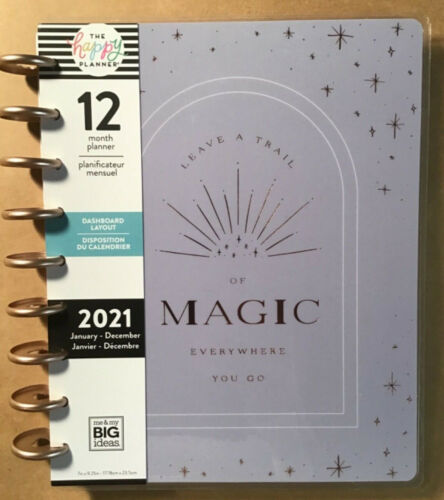 """NEW! 2021 me & my BIG Ideas The Happy Planner CLASSIC """"WILD SOUL"""" Planner 12 Mos"""