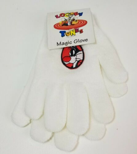 Looney Tunes Magic Glove Gloves SYLVESTER the Cat One Size Fits All Stretch